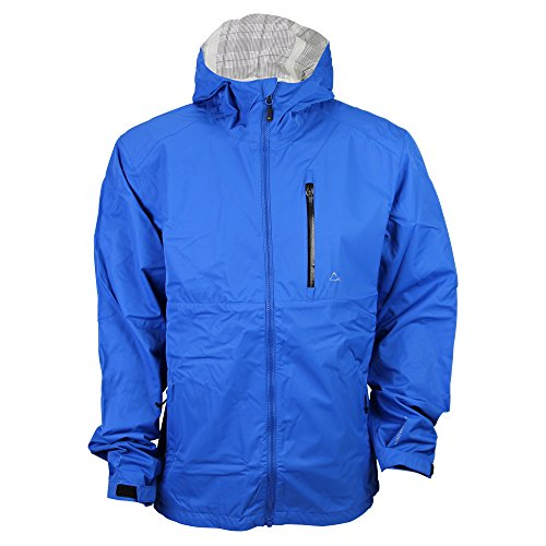 Paradox Men S Waterproof Breathable Rain Jacket Cobalt